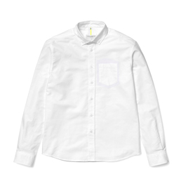 OAMC Triple Needle Shirt Light White