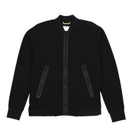 OAMC Interlock Full Zip Black