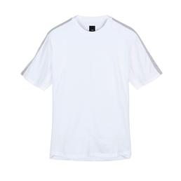 OAMC Rib Insert T-Shirt White/ White
