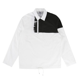OAMC Traditional Overshirt - White/Black