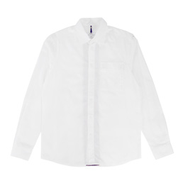 OAMC Contrast Pleat Shirt - White