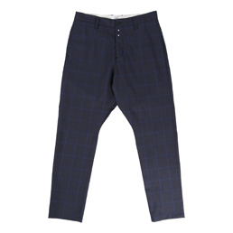 OAMC Chino DC Glen Plaid - Navy