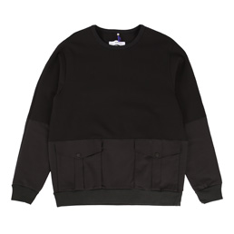 OAMC Mixed Crewneck - Black