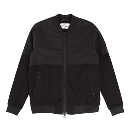 OAMC Mixed Full Zip - Black