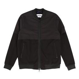 OAMC Mixed Full Zip - Black