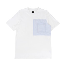 OAMC Pocket T-Shirt - White/Light Blue