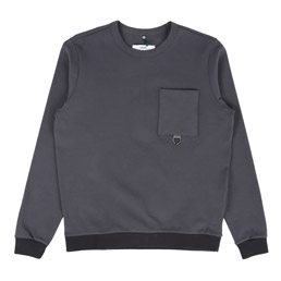 OAMC Feather Crewneck Grey