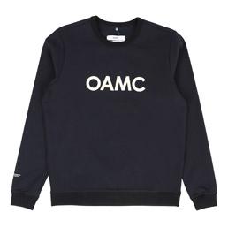 OAMC Logo Crewneck Navy