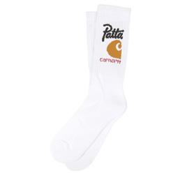 Carhartt WIP x Patta Sport Tennis Socks White