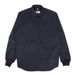 OAMC Rib Cuff Shirt Navy