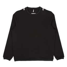 OAMC Double Rib Crewneck Black