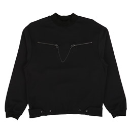 OAMC Captain Crewneck Black