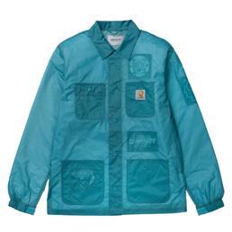 Carhartt WIP x Brain Dead Chore Coat Blue