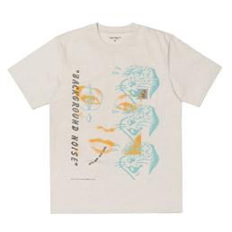 CWIP x Brain Dead SS Noise T-Shirt Beige