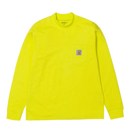 CWIP x Brain Dead LS Swan T-Shirt Lime Green