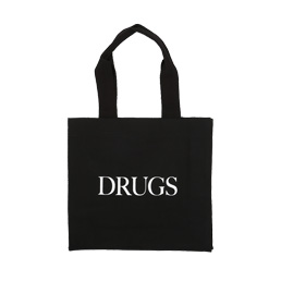 IDEA Drugs Canvas Bag Black