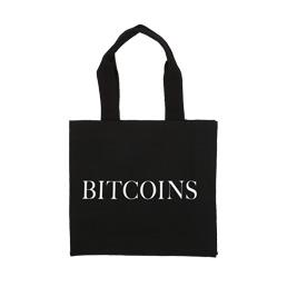 IDEA Bitcoins Canvas Bag Black