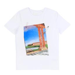 IDEA Philippe Morillon Postcard T-Shirt White