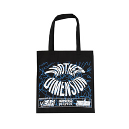 Ignored Prayers Another Dimension Tote Bag-Black