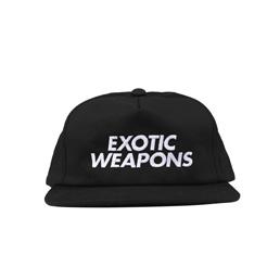 IP Exotic Weapons 5 Panel Snapback Black