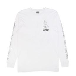 Ignored Prayers OG Hands L/S T-Shirt White