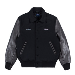 Noah DM Violator Rose Varsity Jacket - Black
