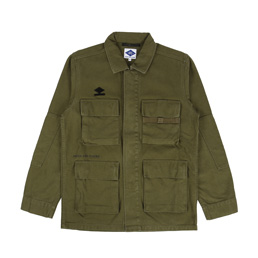 Madness Short Army Jacket Army Green