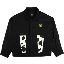 Braindead Cow Club Trucker Jacket Black