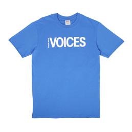 Know Wave Voices T-Shirt Blue