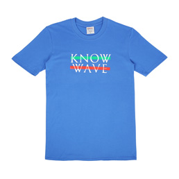 Know Wave Wavelength T-Shirt Blue