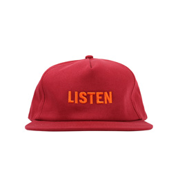 Know Wave Listen Hat Burgundy