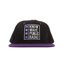 Know Wave Public Radio Hat Purple