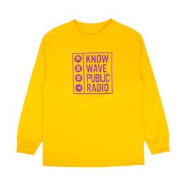 Know Wave Public L/S T-Shirt Gold