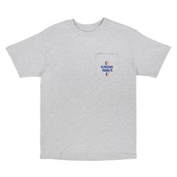 Know Wave Median SS Pocket T-Shirt Grey