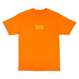 Know Wave Balanced S/S T-Shirt Orange