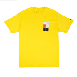 Know Wave Intervals T-Shirt Yellow