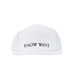 Know Wave Short Brim Mesh Hat White/ White