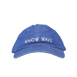 Know Wave Denim Hat Dark Blue