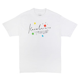 Know Wave Composition T-Shirt White