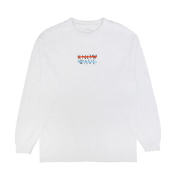 Know Wave Wavelength L/S T-Shirt White