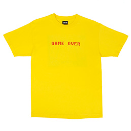 Last Call Game Over T-Shirt Yellow