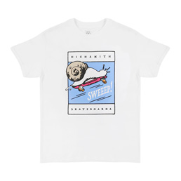 Loose Joints Abe 001 T-Shirt White