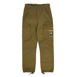 Madness Army Cropped Straight Cut Pant Army Green