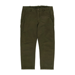 Madness Cropped Straight Cut Army Green