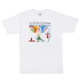 LSD World Peace The Garcia T-Shirt White