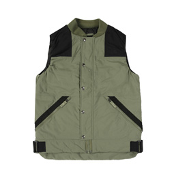 TNF Urban R1 Padded Vest - Four Leaf Clover