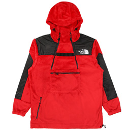 TNF KK Gear Fleece Hoody - Red