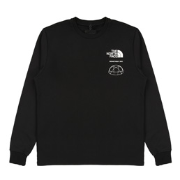 TNF KK Coordinate LS Crew - Black