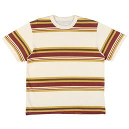 Noon Goons Surfer Stripe S/S T-Shirt - Cream