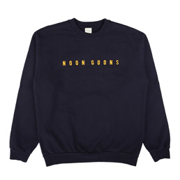 Noon Goons Is Gold L/S Crew Navy